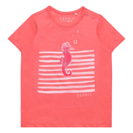 ESPRIT Girl s T-Shirt corail
