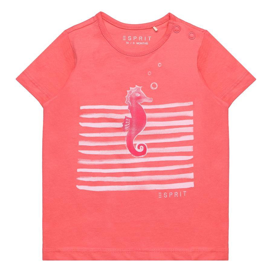 ESPRIT Girls T-Shirt coral
