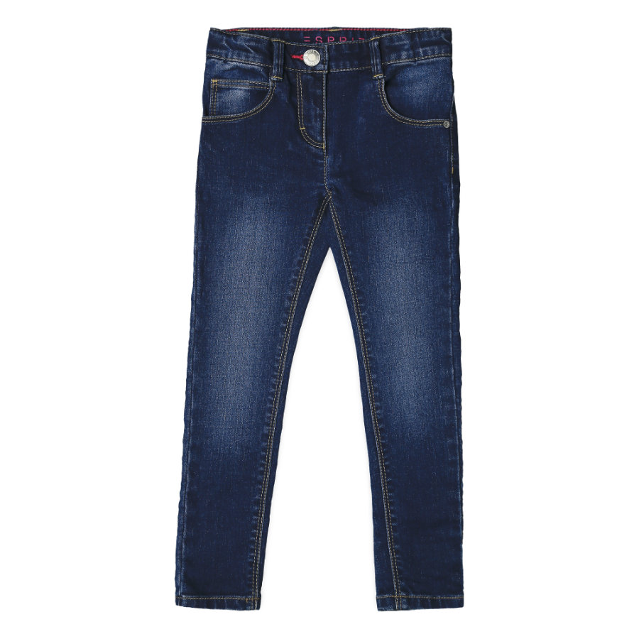 ESPRIT Jeans för flickor mörk indigo
