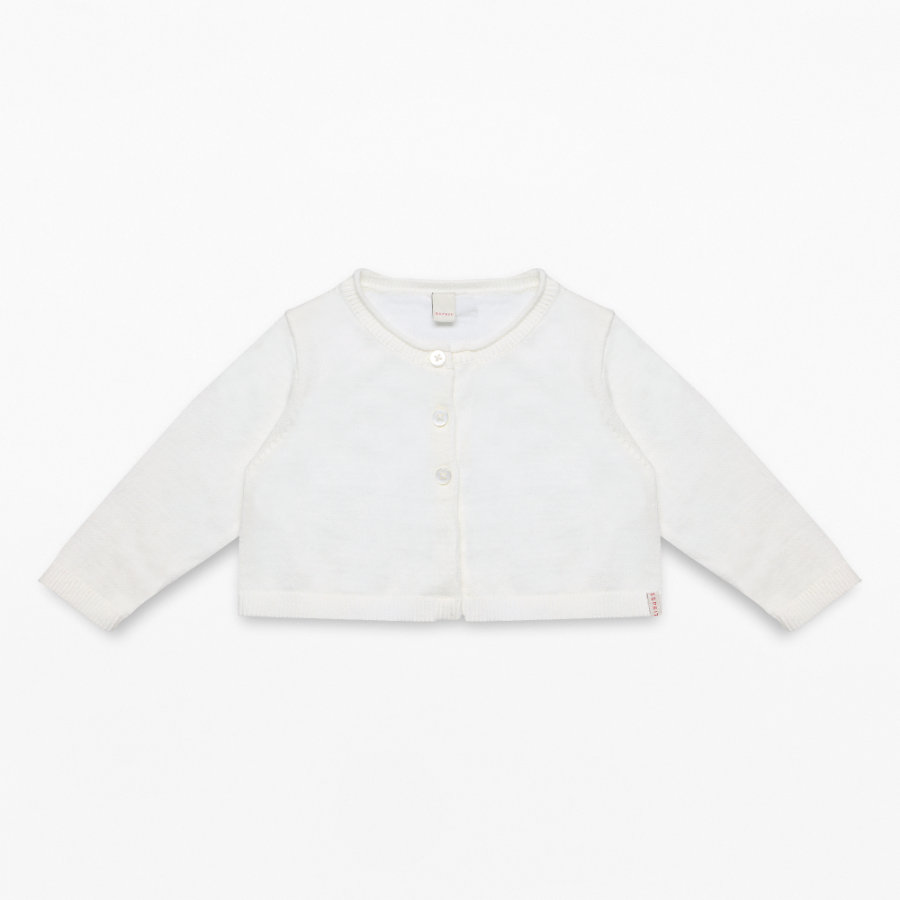 ESPRIT Girls Strickjacke off white