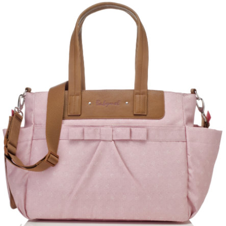 Babymel Borsa Fasciatoio Cara Bloom Dusty Pink