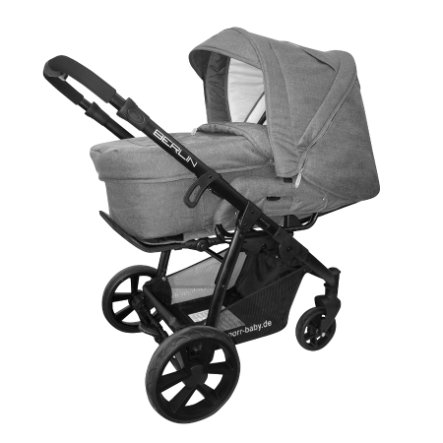 knorr-baby Cochecito combinable Berlin Gris
