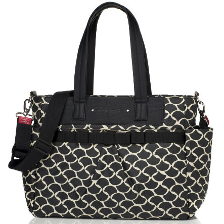 Babymel Wickeltasche Cara Wave Black