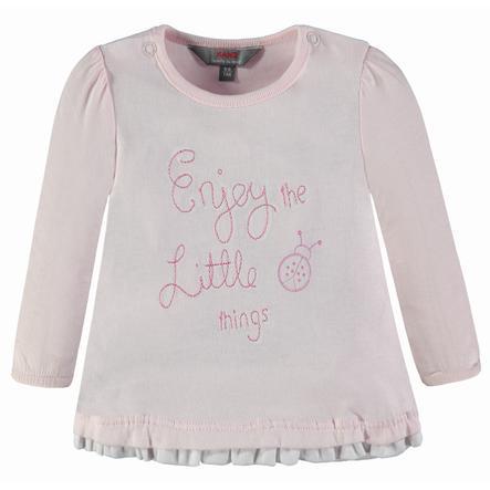 KANZ Girls Langarmshirt Ladybug, rosa