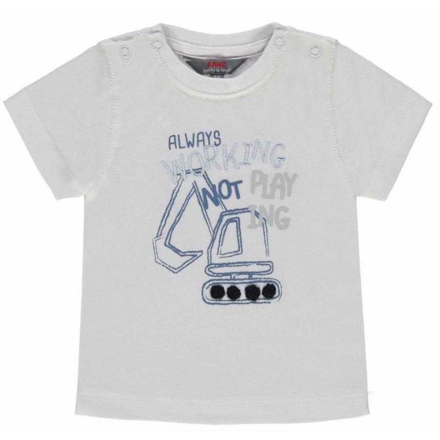 KANZ Boys T-Shirt Graafmachine, wit