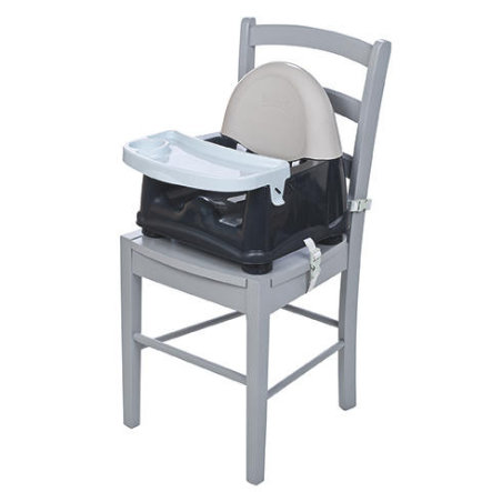 Safety 1st Rehausseur de chaise enfant Easy Care booster Grey Patches