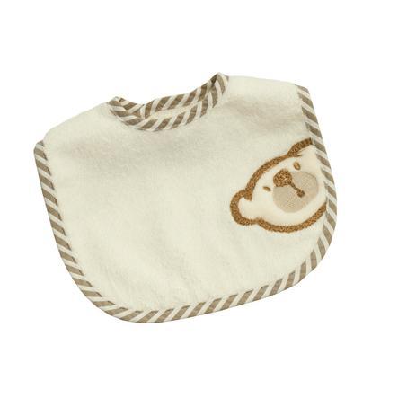Wees 's Mini Collection Klittenband Slabbetje Groot  Willi beige