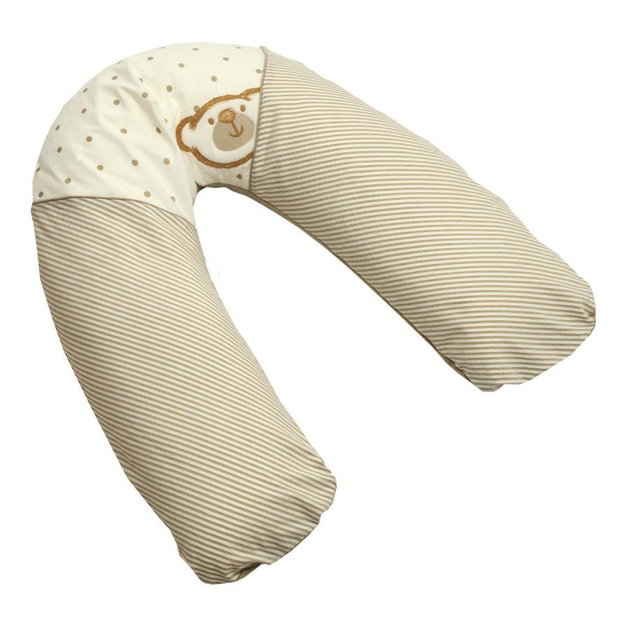 Be 's Big Willi beige 40 x 190 cm Collection pokrowiec na poduszkę dla pielęgniarek