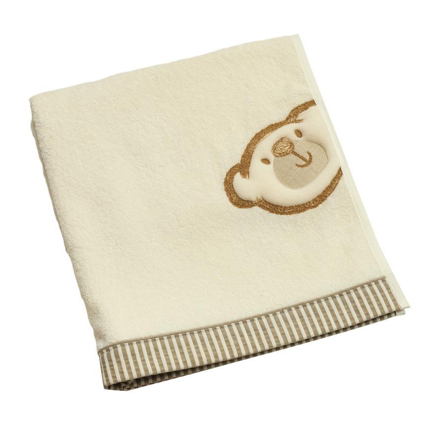BeBes Collection Serviette de bain enfant Big Willi beige 70x120 cm