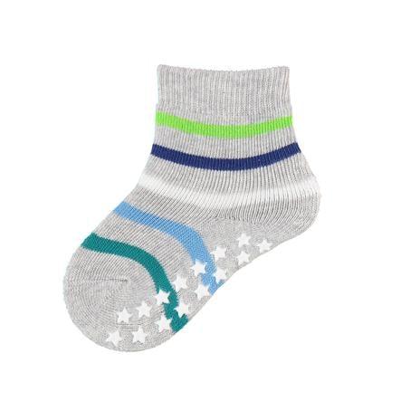 FALKE Sokken Multi Stripes lichtgrijs melange