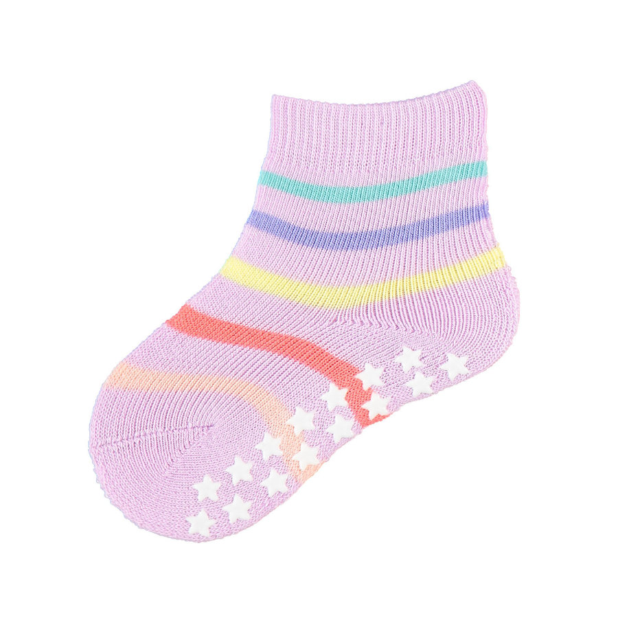 FALKE Socken Multi Stripes blueberry cream