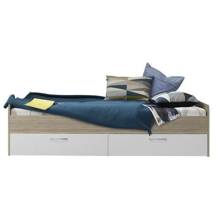 trendteam bett canaria eiche s gerau hell. Black Bedroom Furniture Sets. Home Design Ideas