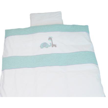 Be Be 's Collection vinter sengetøy Max &   Mila mynte 80 x 80 cm