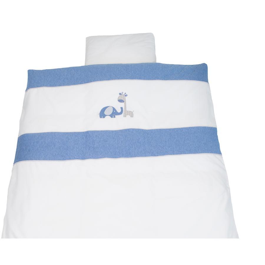 Be Be 's kolleksjon vinter sengetøy Max &   Mila blå 80 x 80 cm