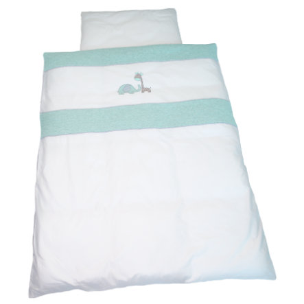 Be 's Bed Collection Linen 100 x 135 cm, Max & Mila mint