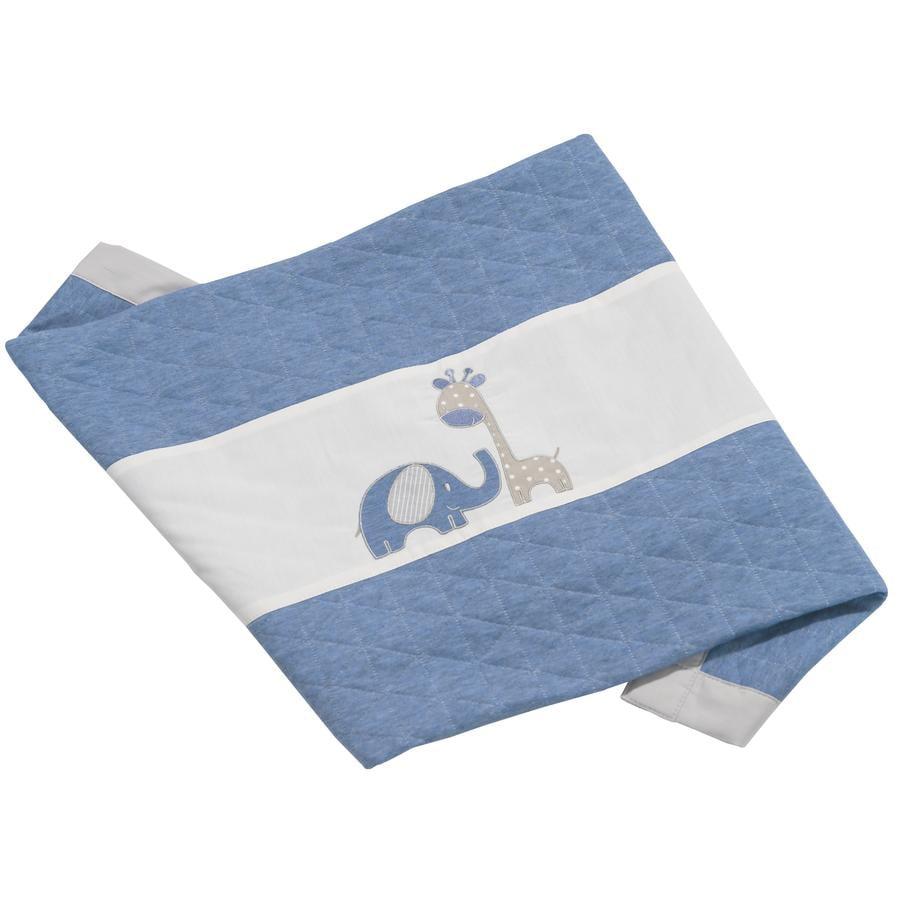 Be Be -kokoelman Cuddle Blanket Max &   Mila sininen 75 x 100 cm