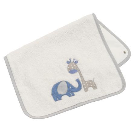 Be Be 's Collection erstatning frottéhåndklehåndtak Max &   Mila blå 85 x 70 cm