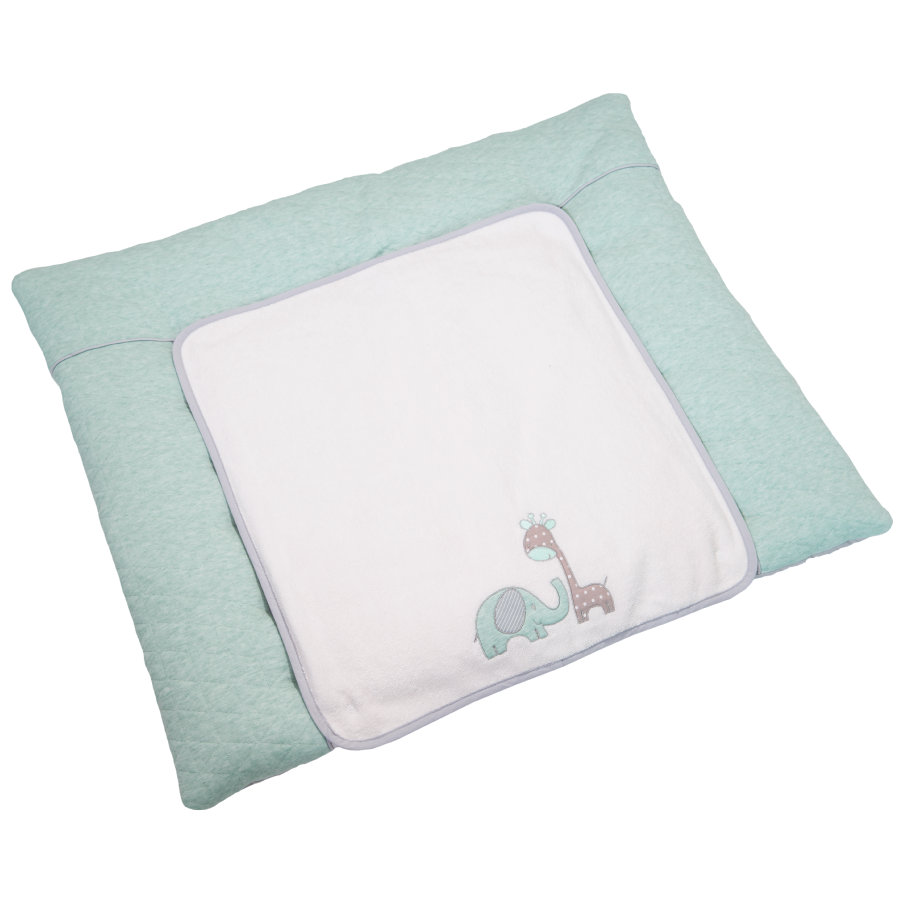Be Be 's Collection Wickelauflage Max & Mila mint  85 x 70 cm