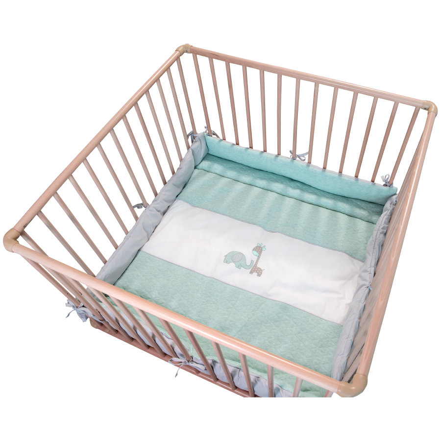 Be 's Collection playpen insert Max & Mila mint
