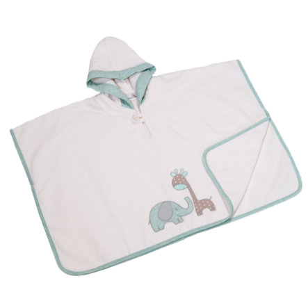 Be Be 's Collection Badeponcho med hætte Max & Mila mint