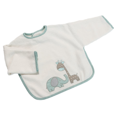 Be Be 's Collection Ærme Hagesmæk med Velcro Max & Mila mint