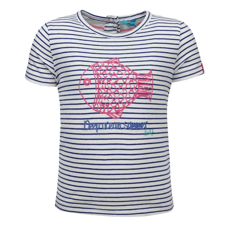 ran! Girl s T-Shirt con rayas