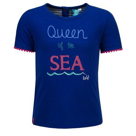 ran ! Girl s T-Shirt , blue