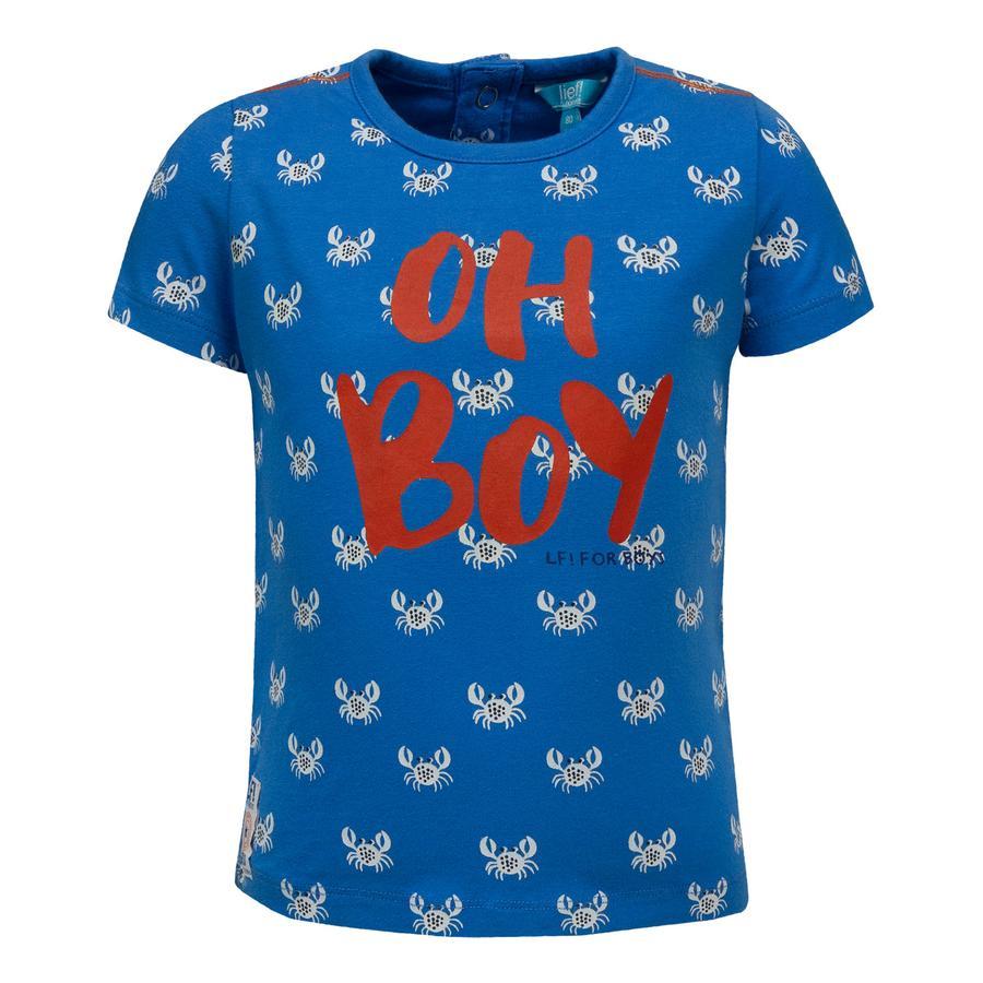 lief! Boys Koszulka T-Shirt raki,niebieski