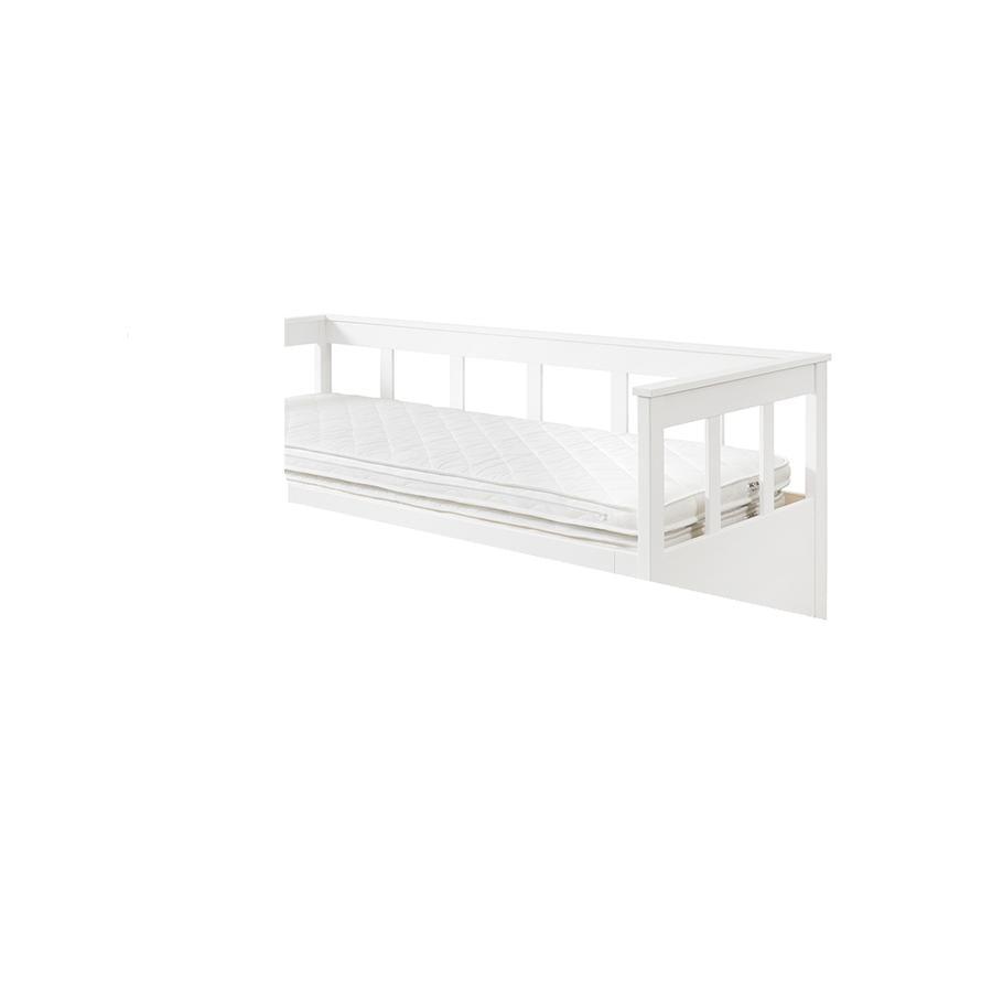 VIPACK Cama funcional con cajón de cama Pino blanco