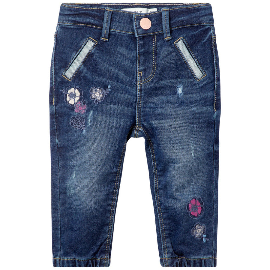 name it Girls Jeans Nbfrandi medium blue denim