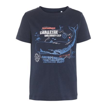 name it Boys T-Shirt Nmmvictor zaffiro scuro