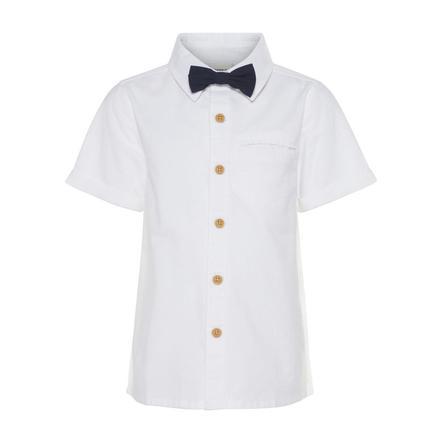 name it Boys Camisa blanco brillante