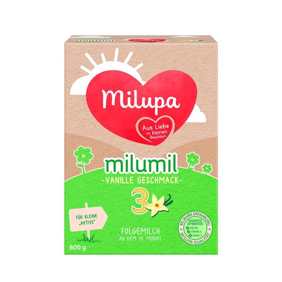Milupa Folgemilch milumil 3 Vanille 600 g ab dem 10. Monat