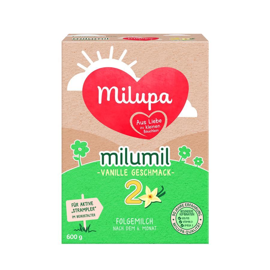 Milupa Folgemilch milumil 2 Vanille 600 g ab dem 6. Monat