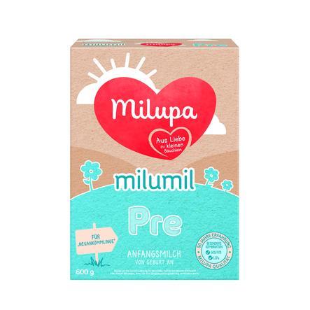 Milupa Anfangsmilch Milumil Pre  600 g ab der Geburt