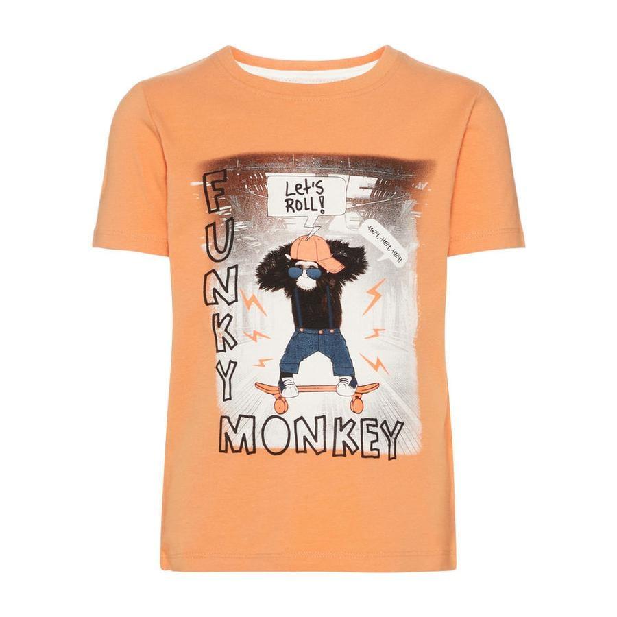 name it Boys T-Shirt Bronceado de cobre Saku