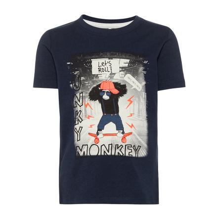 name it T-shirt Saku mörk safir