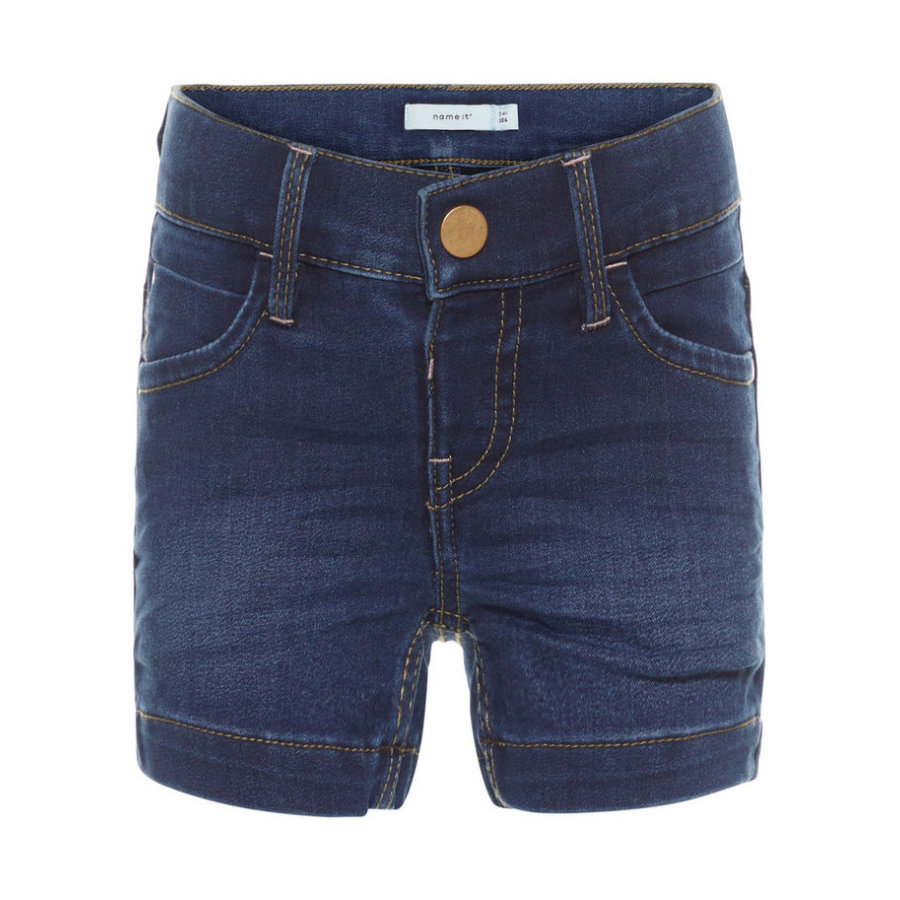 name it Girl s Jeansshort Salli jean bleu moyen