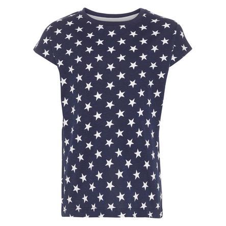 name it Girl s T-Shirt Nmfvigga ciemny szafir Nmfvigga