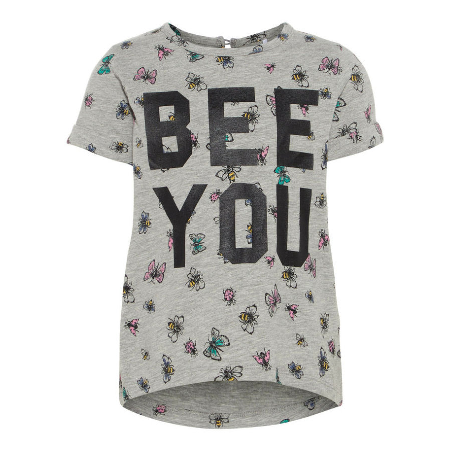 name it Girl s T-Shirt Nmffabille - szary melange