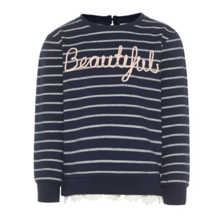 name it Girls Sweatshirt Nmffaola dark sapphire