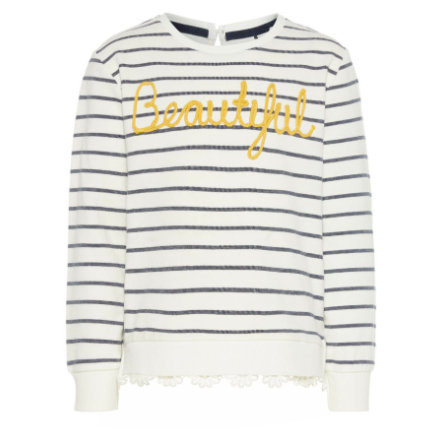 name it Girl s Sweatshirt Nmffasola blanc neige