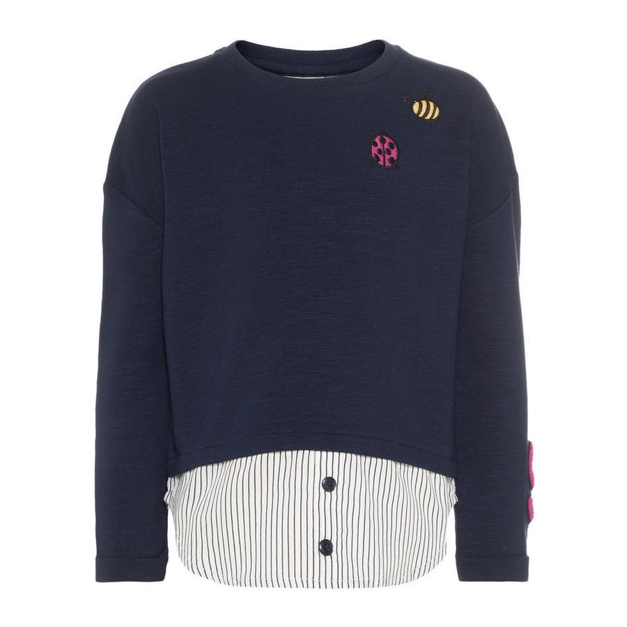 name it Girl s Sweatshirt Nmffasassa donker saffier