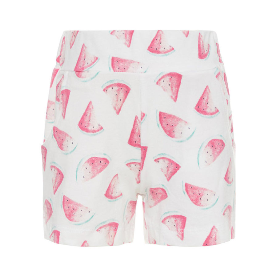 name it Girls Shorts Nmfvigga bright white