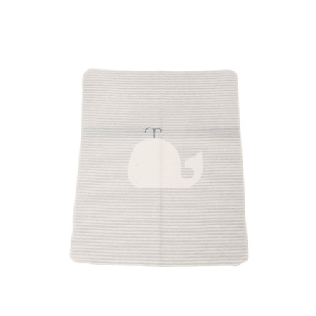 DAVID FUSSENEGGER Babydecke Wal/Streifen filz 70 x 90 cm