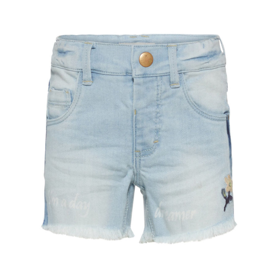name it Girls Jeans Shorts Nmfsalli light blue denim