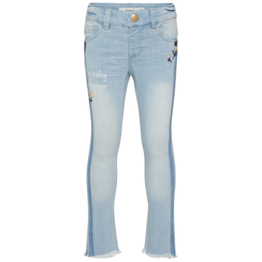name it Girl s Jeans Jeans Nmfpolly denim bleu clair