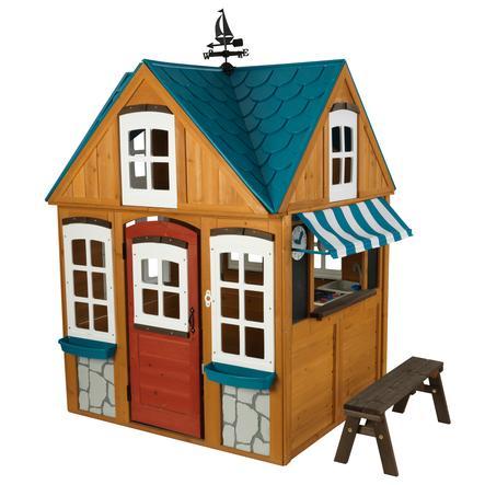 Kidkraft® Maison cabane de jardin enfant plage, bois 10025