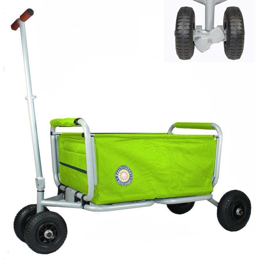 BEACHTREKKER Bollerwagen - Faltbarer Bollerwagen LiFe, grün mit Feststellbremse