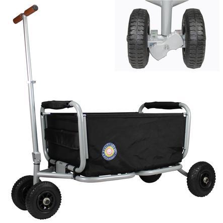 BEACHTREKKER Chariot enfant pliable LiFe noir, frein de blocage